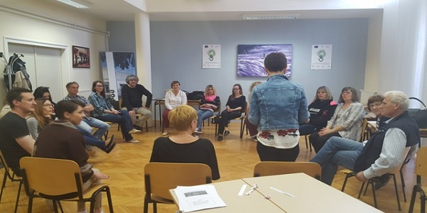 Održan prvi dio radionica ''Komunikacija i grupna dinamika u obrazovanju odraslih''