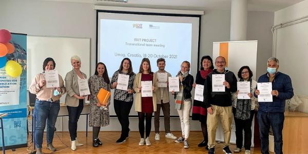 Projekt EDIT: Transnacionalni sastanak projektnog tima u Umagu