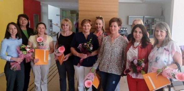 """Podjela svjedodžbi djelatnicima Doma za starije i nemoćne osobe """"Atilio Gamboc"""" Umag"""