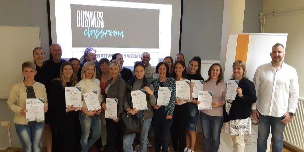 U Učilištu Umag započeo ciklus besplatnih radionica Business Classroom