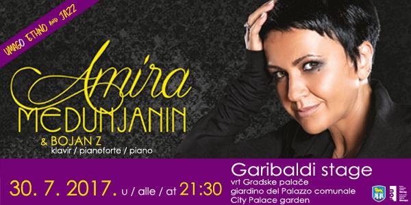 Amira Medunjanin i Bojan Zulfikarpašić na Umago Ethno & Jazzu