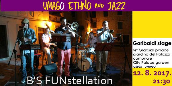 Jazz sekstet B's FUNstallation, vrhunska ekipa jazz glazbenika u Umagu