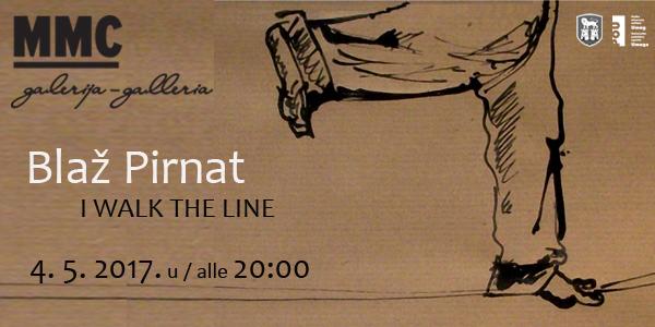 Otvorenje samostalne izložbe Blaža Pirnata u MMC galeriji