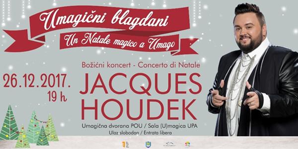 Rezervirajte svoju ulaznicu za koncert Jacquesa Houdeka!