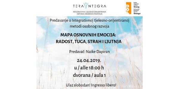 Predavanje o integrativnoj tjelesno-orijentiranoj metodi osobnog razvoja - uskoro u Umagu!