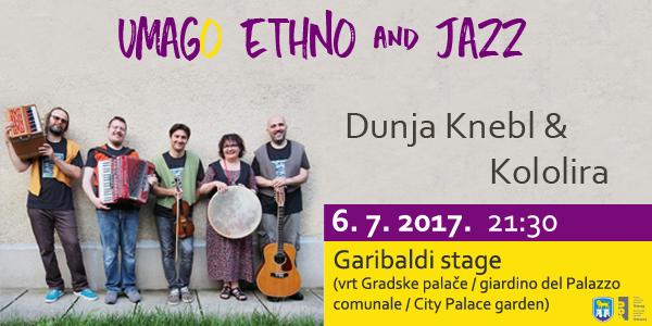 Čuvarica hrvatske etno glazbe Dunja Knebl otvara Umag-o Ethno&Jazz
