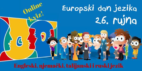 Obilježavanje Europskog dana jezika - Kviz poznavanja jezika