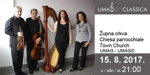 Bogatu paletu glazbenih ugođaja donosi Zagreb Palette Ansambl na koncertu 15.kolovoza