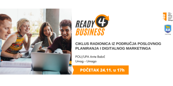 READY 4 BUSINESS - poslovno planiranje i digitalni marketing