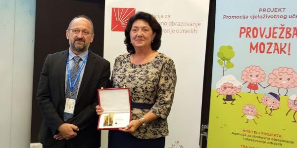 Priznanje struke ravnateljici umaškog Učilišta Tatjani Vujić