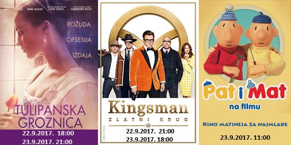 Kino program 22. i 23. 9. 2017.