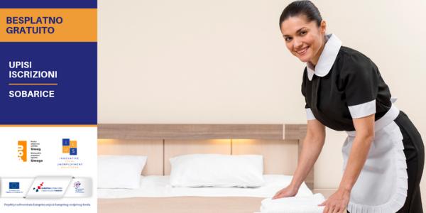 Upisi u besplatan program osposobljavanja za poslove sobarice - POŽURITE!!!