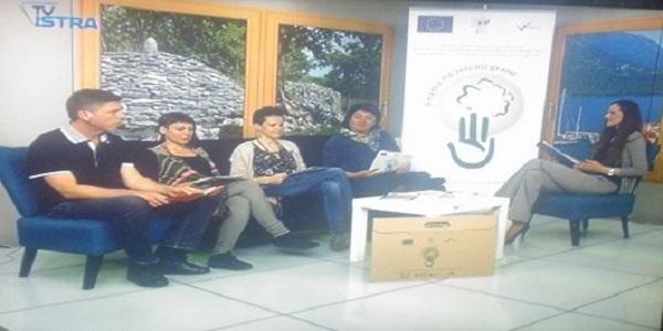 Gostovanje sudionika projekta na TV Istri