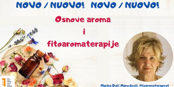Osnove aroma i fitoaromaterapije - NOVO!!!
