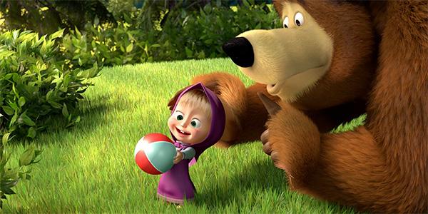 Maša i medvjed - kazališna predstava za djecu u Umagu