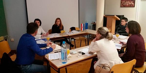 Održan prvi sastanak radne skupine za rad na programu osposobljavanja