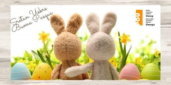 Sretan Uskrs! Buona Pasqua!
