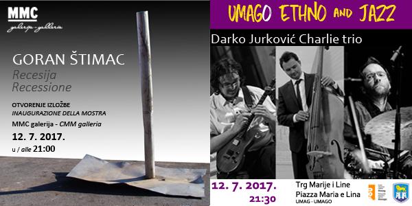 Sinergija glazbene i likovne umjetnosti 12. srpnja u Umagu!